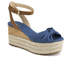 MICHAEL MICHAEL KORS Women's Maxwell Mid Wedge Sandals - Denim: Image 2