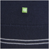 BOSS Green Men's Zime Zip Neck Knit Jumper - Navy: Image 6