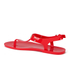 MICHAEL MICHAEL KORS Women's MK Plate Jelly Sandals - Coral Reef: Image 4