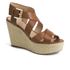 MICHAEL MICHAEL KORS Women's Celia Mid Wedge Sandals - Luggage: Image 2