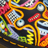 Dr. Martens 1461 Flat Shoes - Multi Kaboom: Image 7