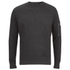 Brave Soul Men's Jacob Zip Sleeved Sweatshirt - Charcoal: Image 1