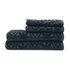 Highams 100% Egyptian Cotton 4 Piece Luxury Jacquard Towel Bale Set (500gsm) - Charcoal: Image 1