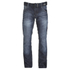 Crosshatch Men's New Embossed Techno Straight Fit Jeans - Dark Wash: Image 1