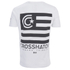 Crosshatch Men's Formalhaut Back Print T-Shirt - White: Image 2