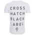 Crosshatch Men's Hamal Graphic T-Shirt - White: Image 2