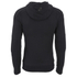Crosshatch Men's Gixer Zip Through Hoody - Black: Image 2