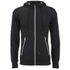 Crosshatch Men's Gixer Zip Through Hoody - Black: Image 1