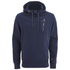 Crosshatch Men's Chalker Hoody - Iris Navy: Image 1