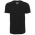 Crosshatch Herren Baseline T-Shirt - Black: Image 2