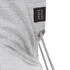 Crosshatch Men's Gixer Zip Through Hoody - Grey Marl: Image 5