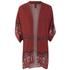 MINKPINK Women's Rosewater Open Armhole Kimono Cape - Multi: Image 1