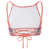 MINKPINK Women's Bloomin Beach Laced Back Bikini Top - Pink: Image 4
