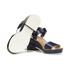 Jil Sander Navy Women's Heeled Sandals - Navy: Image 6