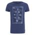 Scotch & Soda Men's Printed T-Shirt - Indigo: Image 1