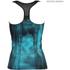 Better Bodies Women's Grunge T-Back Tank Top - Aqua Blue: Image 2