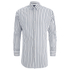 Scotch & Soda Men's Striped Oxford Shirt - White: Image 1