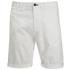 Scotch & Soda Men's Twill Chino Shorts - White: Image 1