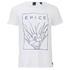 Scotch & Soda Men's Printed T-Shirt - Bright White: Image 1