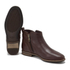UGG Women's Demi Leather Flat Ankle Boots - Chestnut: Image 6