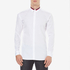 HUGO Men's Ewid Collar Detail Long Sleeve Shirt - White: Image 1