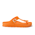 Birkenstock Women's Gizeh Slim Fit Toe-Post Sandals - Neon Orange: Image 1