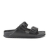 Birkenstock Women's Arizona Slim Fit Double Strap Sandals - Black: Image 1