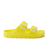Birkenstock Women's Arizona Slim Fit Double Strap Sandals - Neon Yellow: Image 1