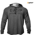 GASP Men's Long Sleeve Thermal Hoodie - Anthracite Melange: Image 1