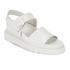 Dr. Martens Women's Shore Romi Petrol Leather Y Strap Sandals - White: Image 2