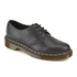 Dr. Martens Women's Core 1461 Virginia Leather 3-Eye Flat Shoes - Black: Image 2