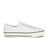Converse Women's Chuck Taylor All Star High Line Craft Leather Flatform Ox Trainers - White/Egret: Image 1