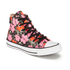 Converse Andy Warhol Chuck Taylor All Star Hi-Top Trainers - Poppy Red/Fuchsia Purple/White: Image 2