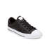Converse Men's CONS Star Player Perforated Leather Trainers - Black/White: Image 4