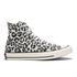 Converse Women's Chuck Taylor All Star Sketchbook Print Hi-Top Trainers - Natural/Roadtrip Blue: Image 1