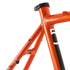 Kinesis Crosslight 5T Disc Frameset - Sweet Orange: Image 5