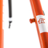 Kinesis Crosslight 5T Disc Frameset - Sweet Orange: Image 3