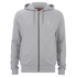Luke 1977 Men's Ceeyou Raglan Hoody - Light Marl Grey: Image 1