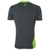 Primal Boundary Short Sleeve Henley - Black/Green: Image 2
