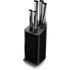 Tower T90300 5 Piece Knife Block - Black: Image 1