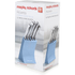 Morphy Richards 974812 5 Piece Knife Block - Cornflower Blue: Image 5