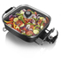 Tower T14010 Electric Saute Pan - Black - 30cm: Image 1