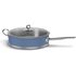 Morphy Richards 973033 Accents Saute Pan with Glass Lid - Cornflower Blue - 28cm: Image 1
