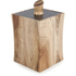 Natural Life NLAS006 Acacia Storage Canister with Slate Lid: Image 1