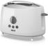 Akai A20001 2 Slice Cool Touch Toaster - White: Image 1