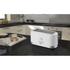 Swan ST10090N 4 Slice LongSlot Toaster - White: Image 2