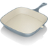 Tower IDT90005 Cast Iron Square Grill Pan - Blue - 24cm: Image 1