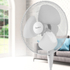 Signature S117N Pedestal Fan - White - 16 Inch: Image 3
