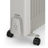 Warmlite WL43005Y Oil Filled Radiator - White - 2500W: Image 3