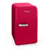 Swan SRE10010RN Retro Mini Fridge - Red: Image 1